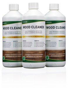 Tergeo woodclean, woodclean pro, Hout reinigen, Hout schoonmaken,