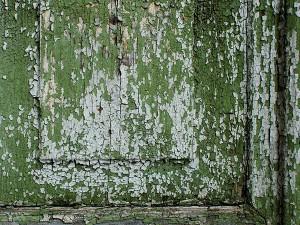 hout oude verf afbladderen schilferen